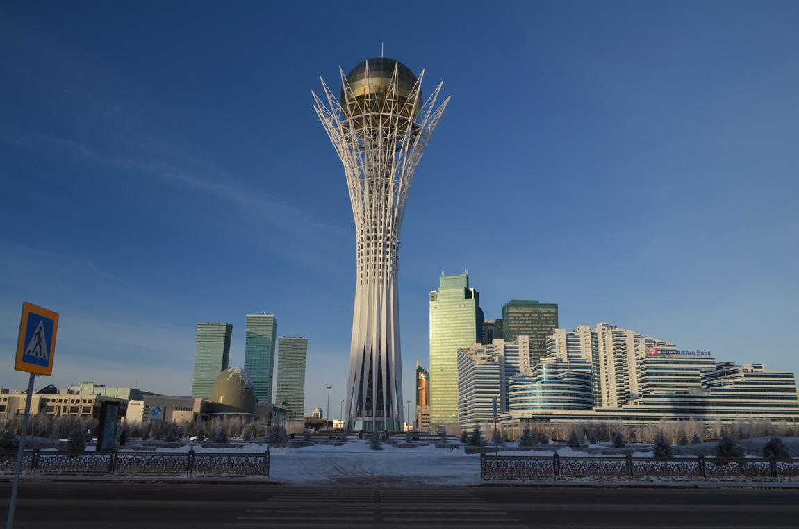 Астана зимой, Достопримечательности, Прогулка по городу.  Фото, Отзывы.