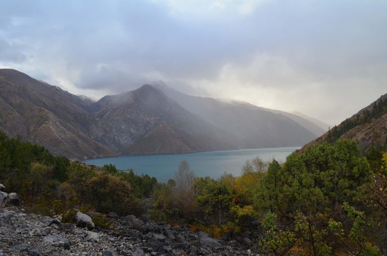 Озеро Кара-Суу, Токтогульское водохранилище. Как добраться, Фото.