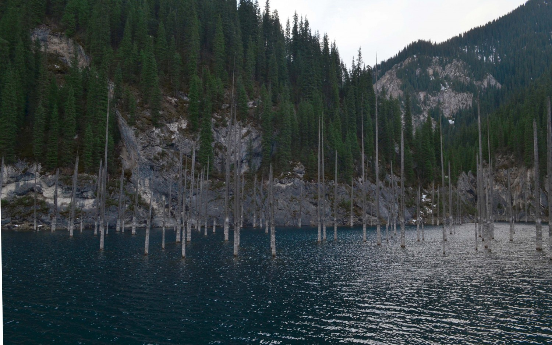 Озеро Каинды. Фото, Отзывы, Как проехать.