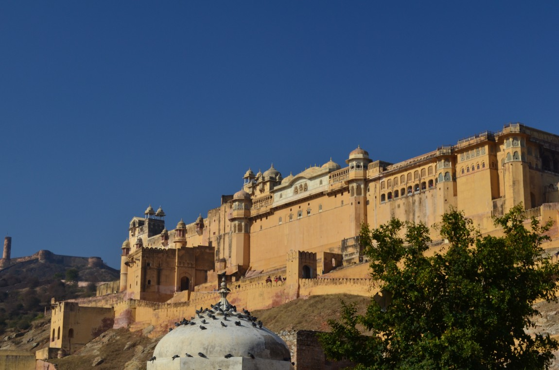 Форты Джайпура. Амбер и Джайгарх. Фото, Как доехать.