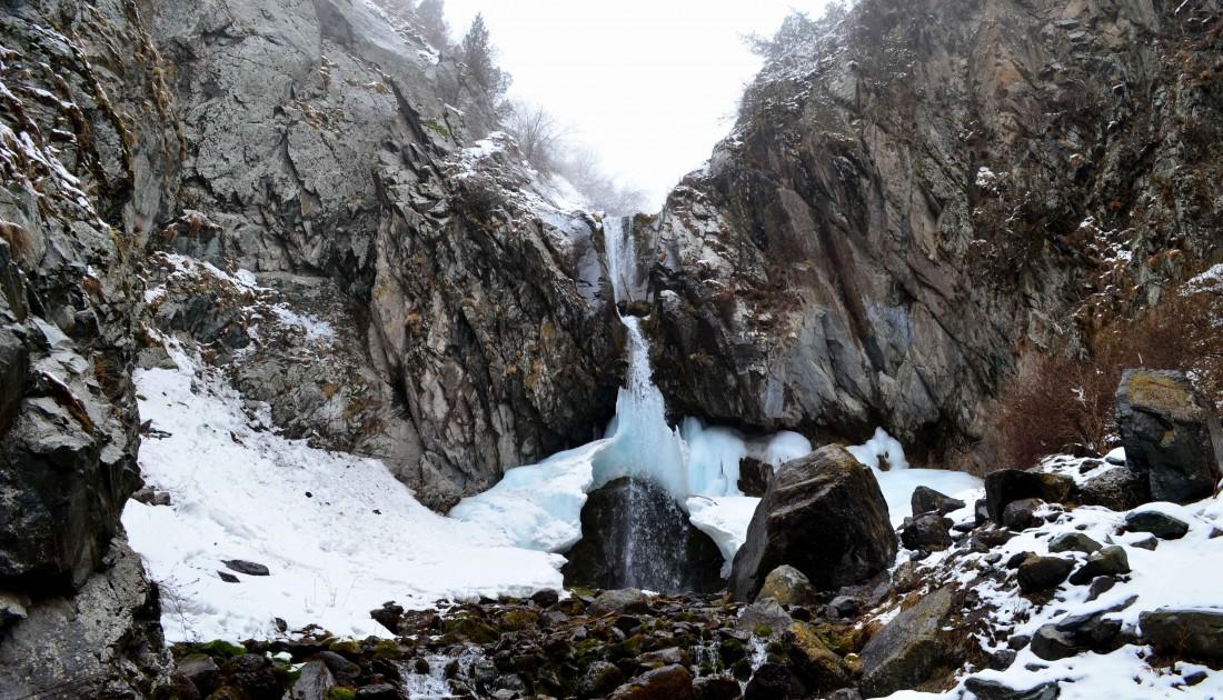 Аламединское ущелье (водопад). Фото, Отзывы.
