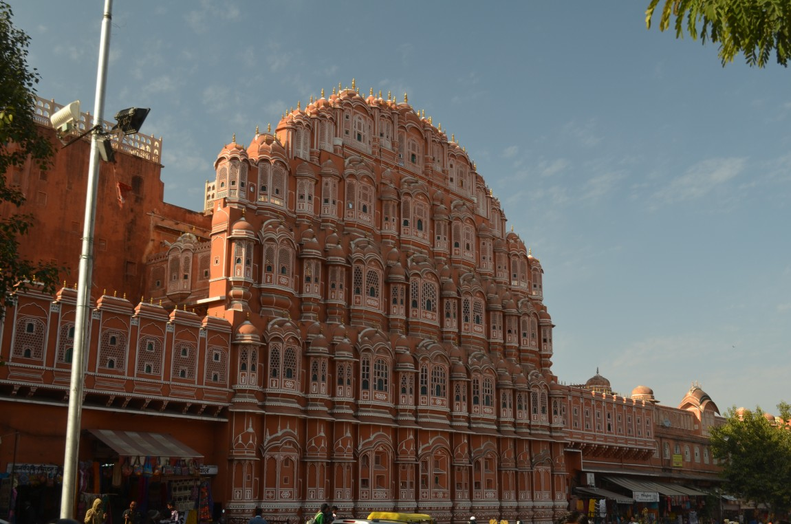 Джайпур — розовый город Индии! Достопримечательности. Фото!