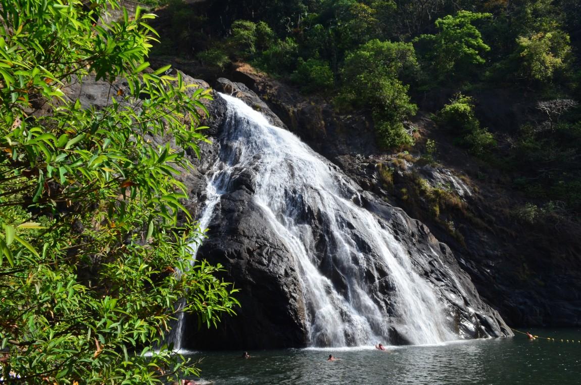 Водопад Дудхсагар. Фото, Отзывы, Как добраться.